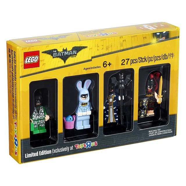 難道蝙蝠俠的變裝派對還沒結束嗎?玩具反斗城限定 LEGO 5004939【樂高蝙蝠俠電影人偶】Batman Movie Minifigures Set 爆笑登場!!