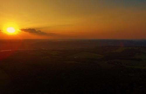 drone phantom3standard setting sun evening westview orange sunlight aerial dji scenery scenic