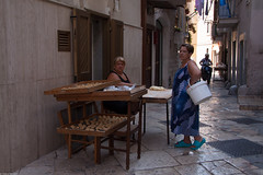 In the little streets of Bari