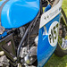 Lydden Hill August 2016 Paddock Triumph Trident Rob North No 157 001B