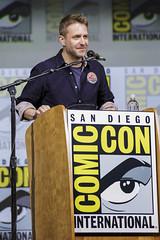 Moderator Chris Hardwick
