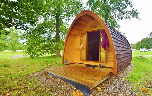 Blair Castle Camping Pod at Blair Atholl Caravan Park