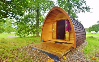 Blair Atholl Campsite, UK - Blair Castle Camping Pod