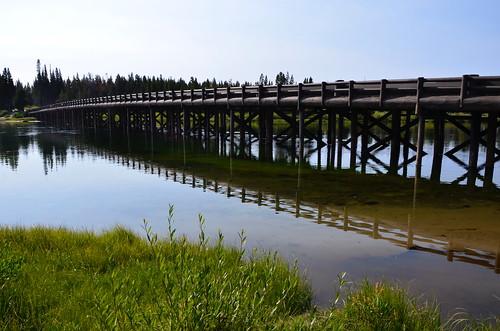 Yellowstone fishing bridge