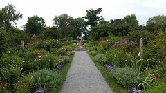 The Walled Garden's Main Border in the Late Summer