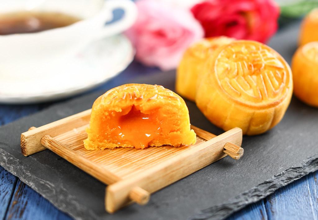 香港美心月饼:熔岩蛋糕
