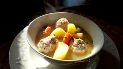 Chicken Meatball Soup.