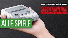 Nintendo SNES Mini - Alle Spiele vorgestellt
