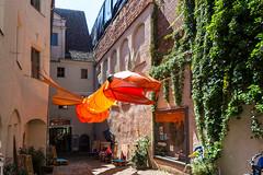 Der Drachen im Cranach-Hof Markt 4