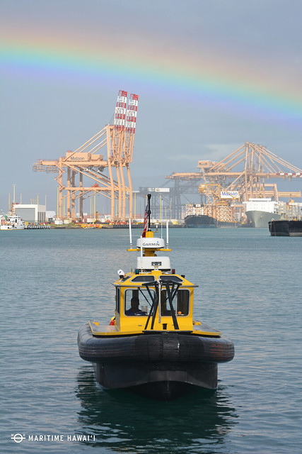 Ahua Point Rainbow