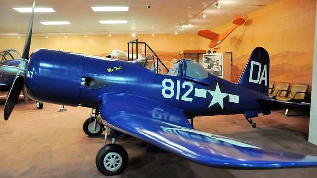 Vought F-4U scale replica