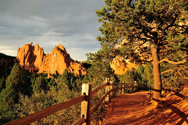 Path to the Garden of the Gods