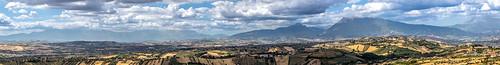 View from Colonnella, Teramo, Italy.