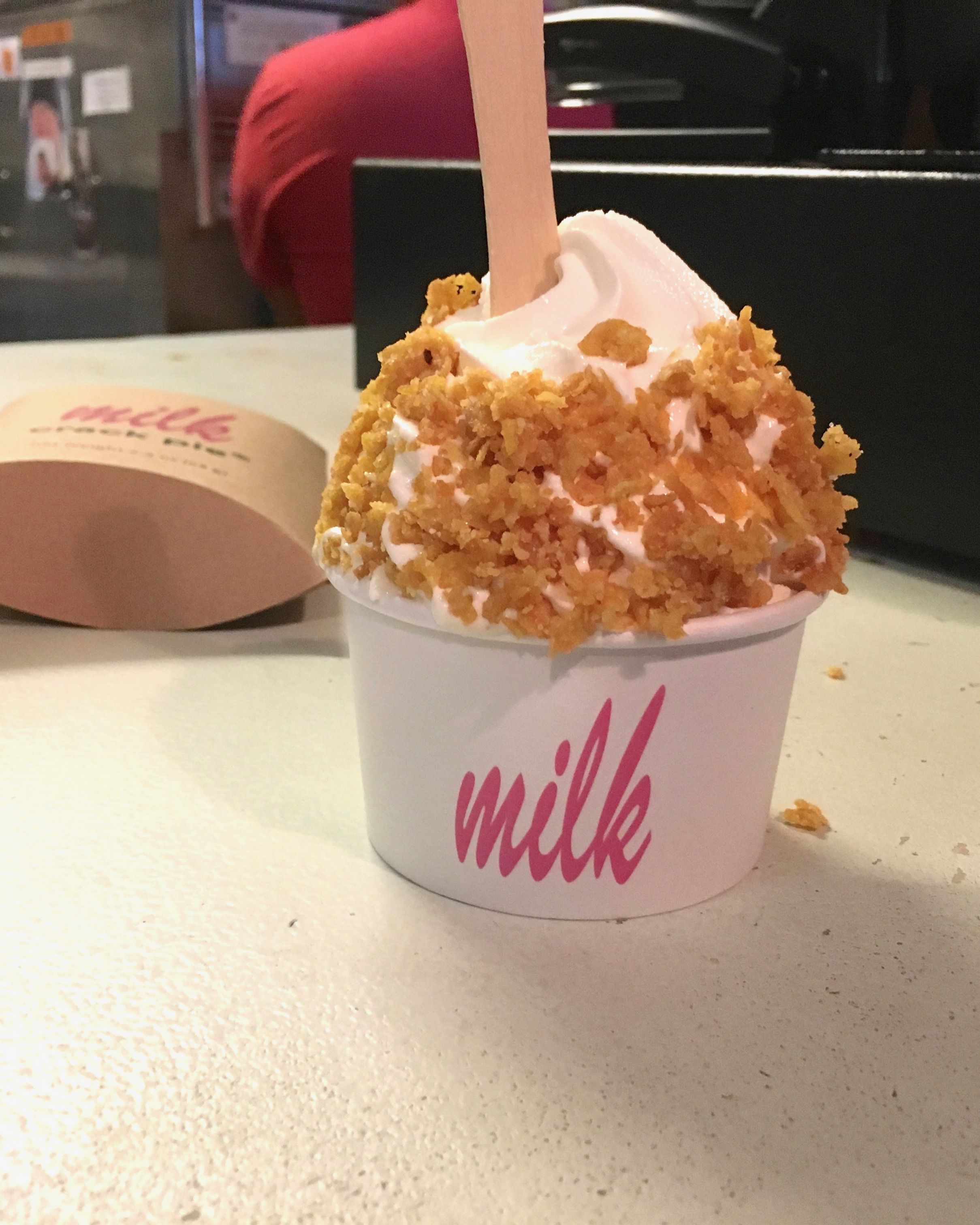 New York Food - cereal milk ice cream