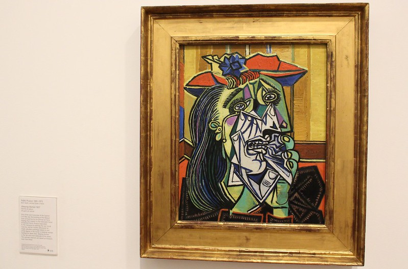 Picasso's Weeping Woman, Tate Modern, London