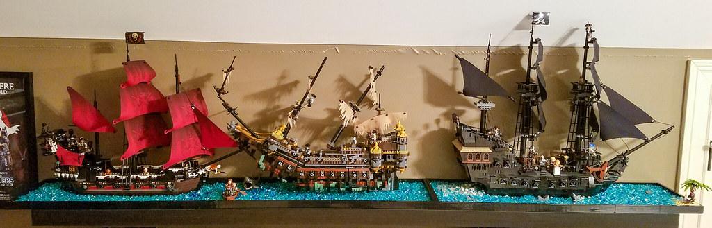 3 PotC ships