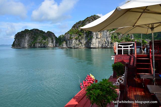 halfwhiteboy - halong bay cruise 41