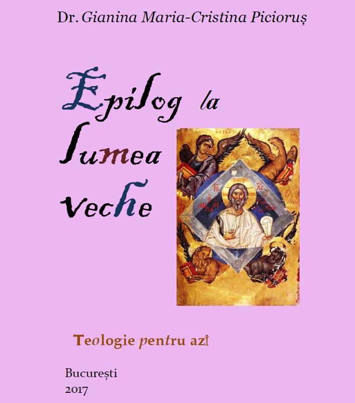 Epilog la lumea veche, vol I. 3 editia a doua