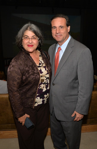 Commissioner Daniella Levine Cava and Commissioner Frank Carollo