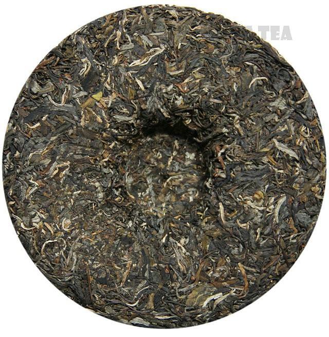 Free Shipping 2012 ChenSheng Beeng Cake Bing YiWu FuYuanChangHao 400g YunNan Organic Pu'er Raw Tea Sheng Cha Weight Loss Slim Beauty