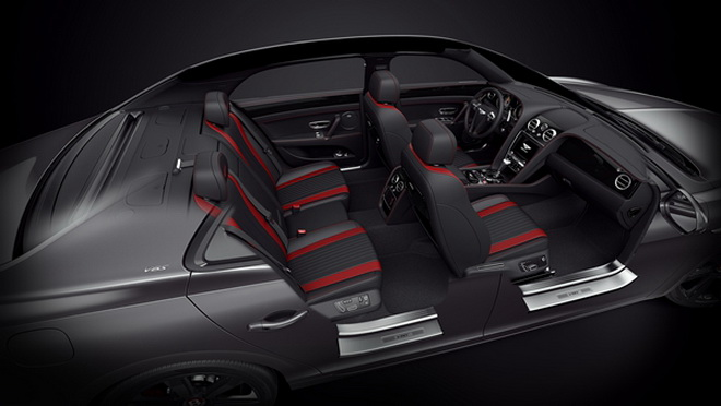 賓利飛馳V8 S Black Edition車型 (1)