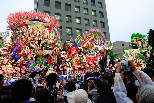 八戶三社大祭之前夜祭