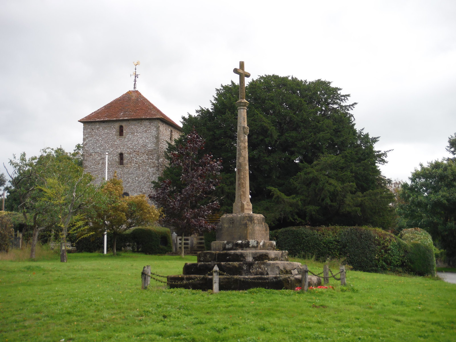 War Memorial and St. Mary the Blessed Virgin, Stopham SWC Walk 294 - Pulborough to Halfway Bridge (via Tillington)