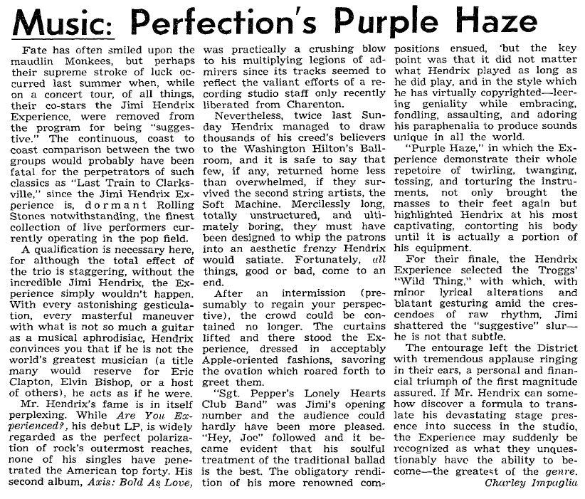 The Hoya - Georgetown Unitversity - Washington DC 1968-03-14