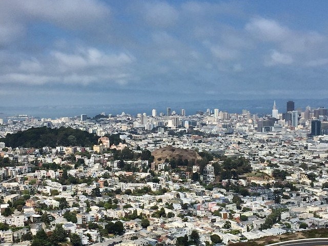 San Francisco viewed from Twin Peaks  1