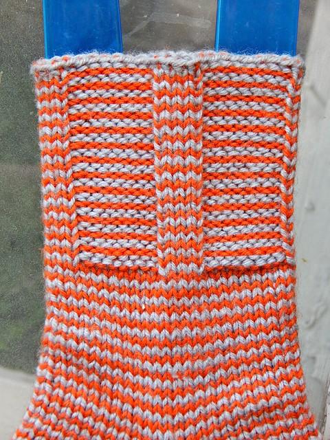 полосатые носки | striped socks - 2