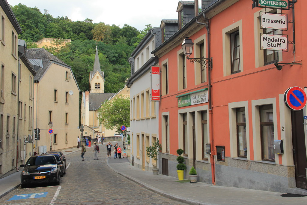 Pfaffenthal neighbourhood, Luxembourg City