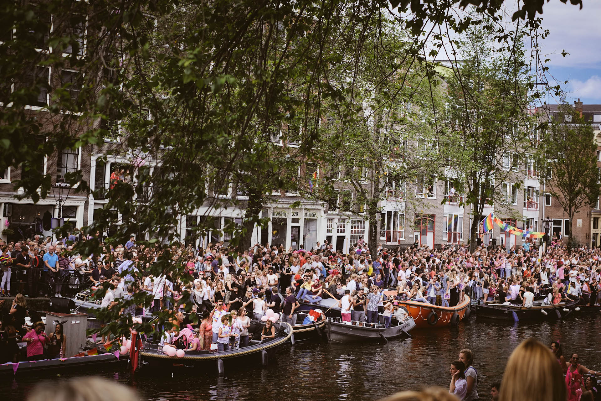 Amsterdam, Canal Parade 2017