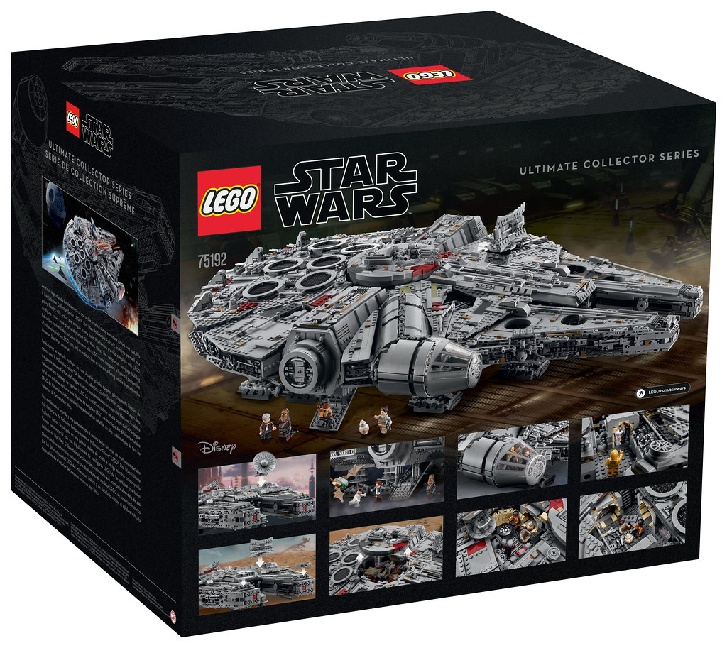 LEGO Star Wars 75192 - Millennium Falcon (Ultimate Collector Series)