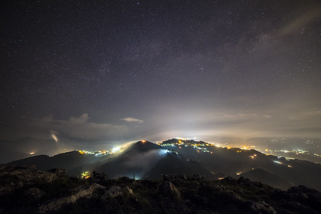 A Silent Night - Mussoorie
