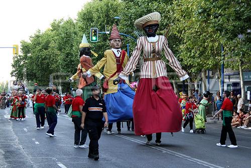 Desfile Gigantero #FiestasLeganes 05/08/2017