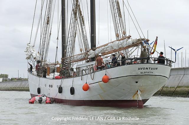La Rochelle renoue avec le commerce maritime à la voile