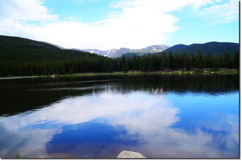Echo Lake(3,230 m) 2