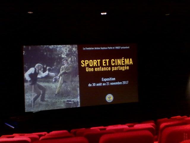 Exposition : Sport et Cinéma, une enfance partagée