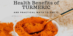 Health Benefits of Turmeric and ways to use it