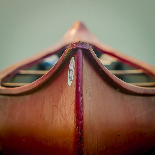 Canoe portrait