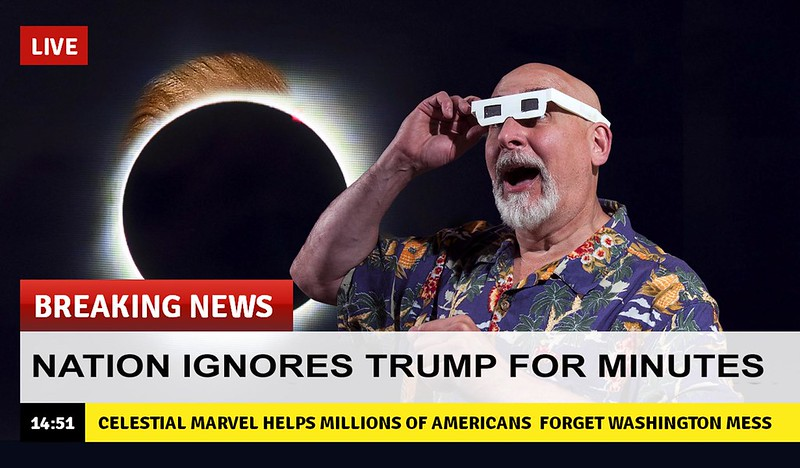 The Great Eclipsing of Trump 2017