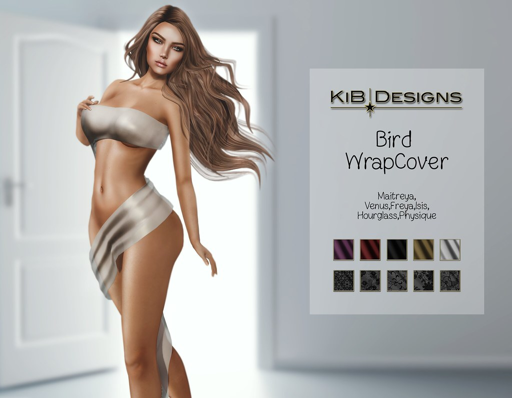 KiB Designs – Bird WrapCover @XXX Event