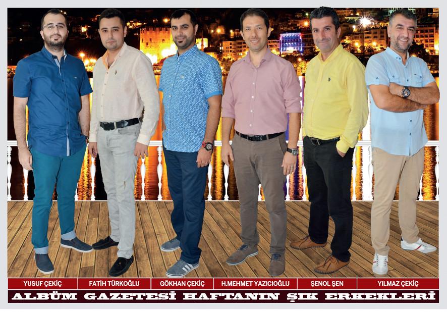 Yusuf Çekiç, Fatih Türkoğlu, Gökhan Çekiç, H. Mehmet Yazıcıoğlu, Şenol Şen, Yılmaz Çekiç