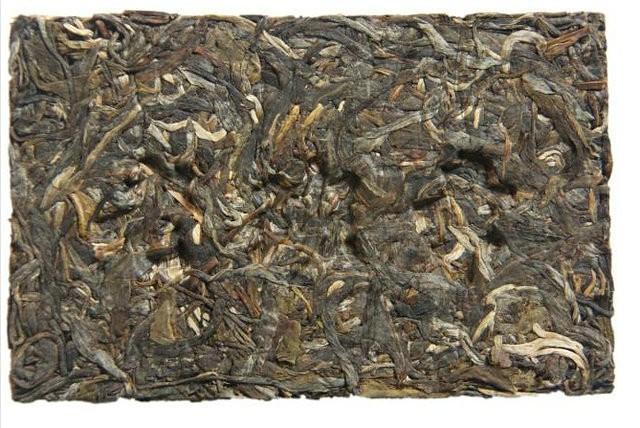 Free Shipping 2013 ChenSheng LaoBanZhang Brick Zhuan 200g YunNan MengHai Organic Pu'er Pu'erh Puerh Raw Tea Sheng Cha