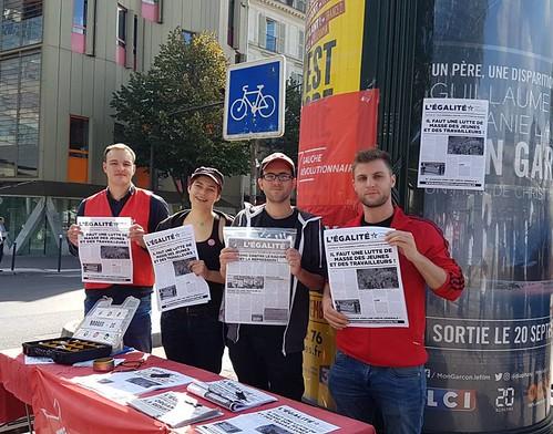 """France. Première journée de mobilisation contre la """"Loi travail XXL"""""""