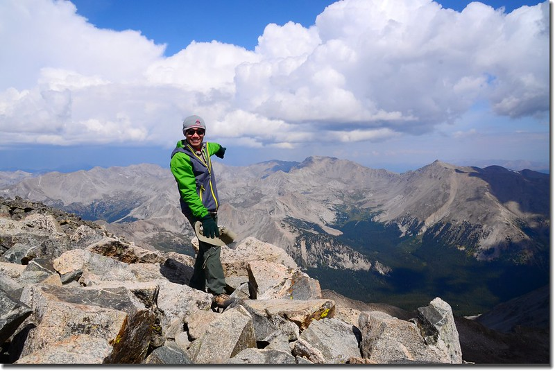 Taken from the summit of Mount Yale 4