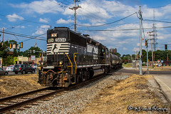 NS 5834 | EMD GP38-3 | NS Memphis District