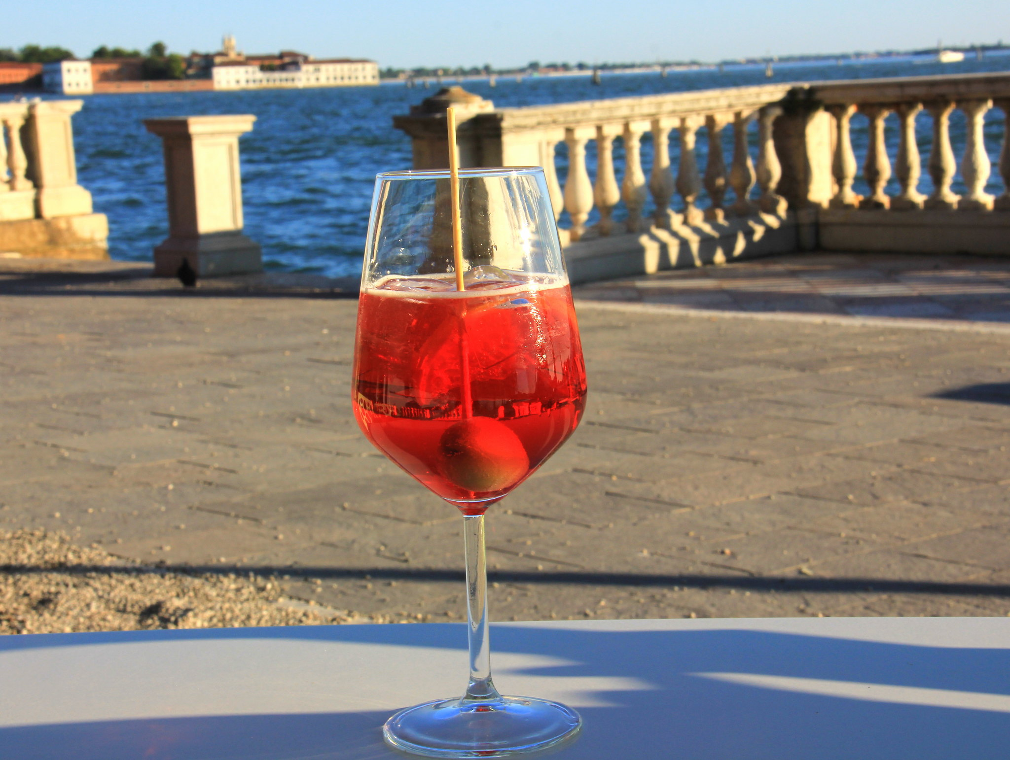 Don't forget to try spritz on your Venice trip