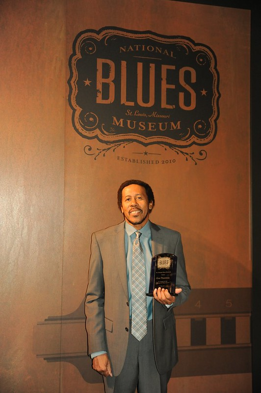 """Keeping the Blues Alive"" Award Ceremony for David Dee and Gus Thornton at the National Blues Museum, September 8, 2017"