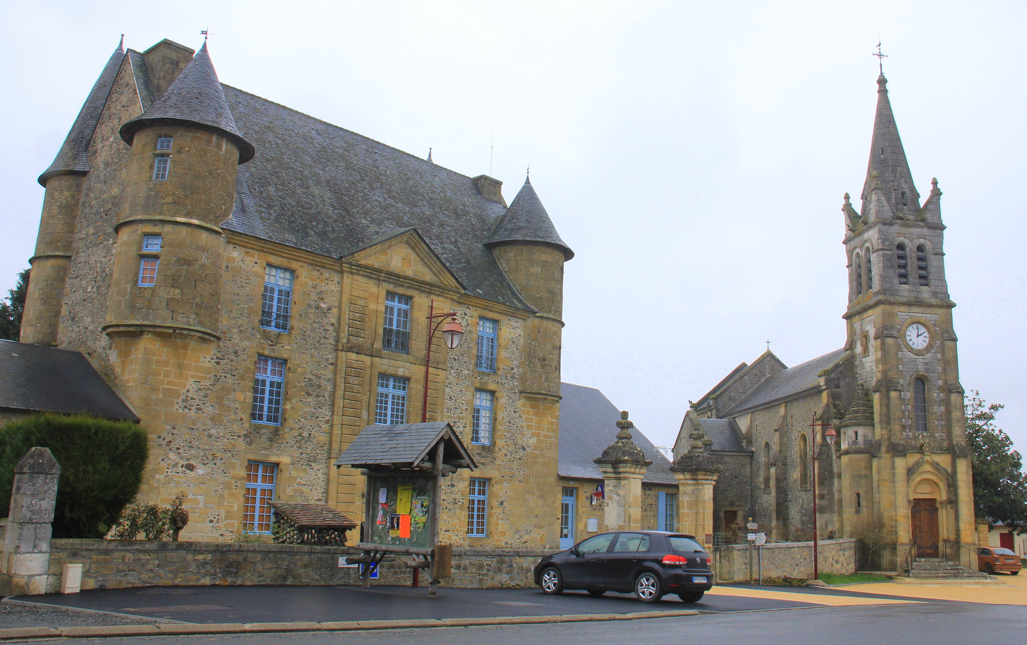 The bastides or fortified villages of Dordogne